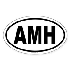 AMH Oval Decal