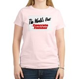 """The World's Best Concrete Finisher"" T-Shirt"