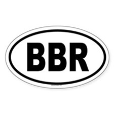 BBR Oval Decal