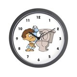 Childcare Wall Clock