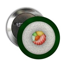 "Sushi Roll (2.25"" Button)"