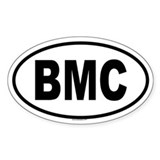 BMC Oval Decal