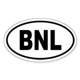 BNL Oval Decal