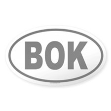 BOK Oval Decal