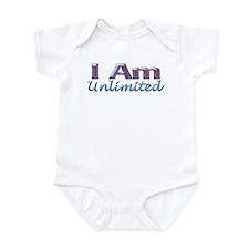 I Am Unlimited Infant Bodysuit