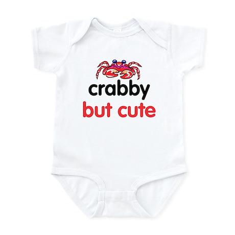 crabby but cute Infant Bodysuit