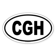 CGH Oval Decal