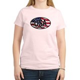 USA Colors Oval 2 T-Shirt