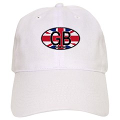 Great Britain Colors Oval Cap