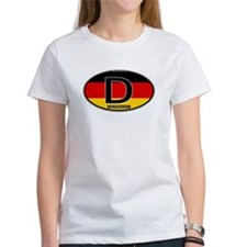 Germany Colors Oval Tee