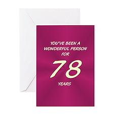 Wonderful Person - Birthday Card - 78