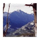 Long's Peak Colorado Tile Coaster