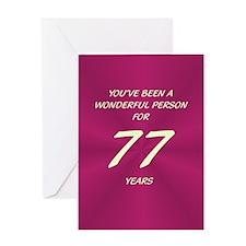Wonderful Person - Birthday Card - 77