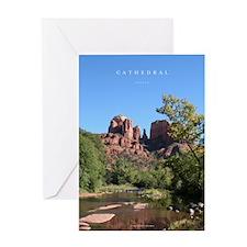 Sedona's Cathedral Rock Greeting Card