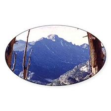 Long's Peak Colorado Oval Decal