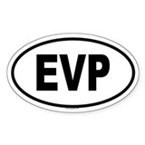 EVP Oval Decal
