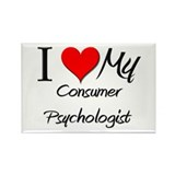 I Heart My Consumer Psychologist Rectangle Magnet