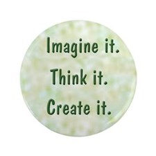 "Imagine It 3.5"" Button (100 pack)"
