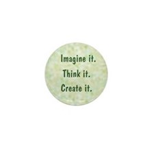 Imagine It Mini Button (10 pack)