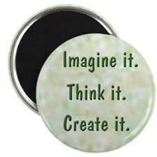 "Imagine It 2.25"" Magnet (10 pack)"