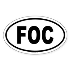 FOC Oval Decal