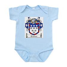 Clinton Family Crest Infant Creeper