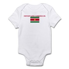 EVERYBODY LOVES A SURINAMESE  Infant Bodysuit