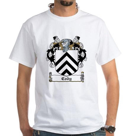 Cody Family Crest White T-Shirt