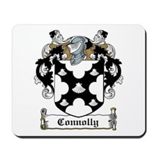 Connolly Family Crest Mousepad
