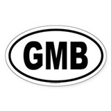 GMB Oval Decal
