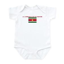 50 PERCENT SURINAMESE IS BETT Infant Bodysuit