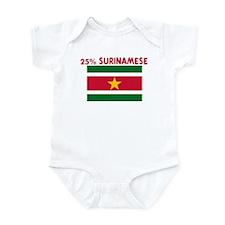 25 PERCENT SURINAMESE Infant Bodysuit