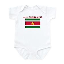 100 PERCENT SURINAMESE Infant Bodysuit