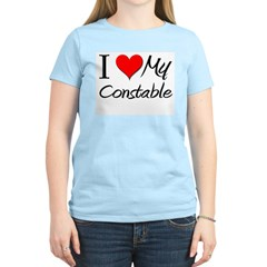 I Heart My Constable Women's Light T-Shirt