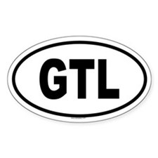 GTL Oval Decal