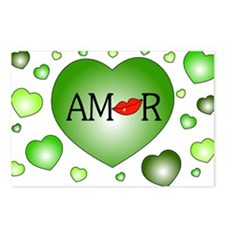 Amor Postcards (Package of 8)