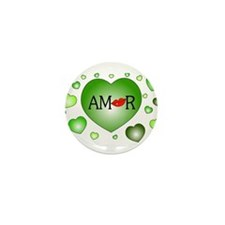 Amor Mini Button