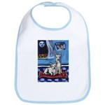 CANAAN DOG art Bib