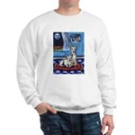 CANAAN DOG art Sweatshirt