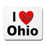 I Love Ohio Mousepad