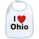 I Love Ohio Bib