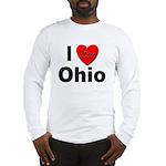 I Love Ohio (Front) Long Sleeve T-Shirt