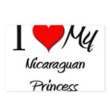 I Love My Nicaraguan Princess Postcards (Package o