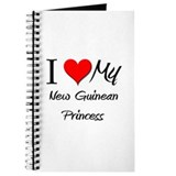 I Love My New Guinean Princess Journal