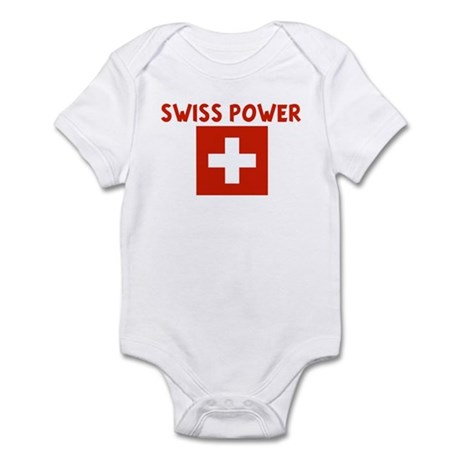 SWISS POWER Infant Bodysuit