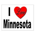 I Love Minnesota Small Poster