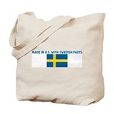 MADE IN US WITH SWEDISH PARTS Tote Bag