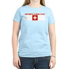 HAPPINESS IS BEING SWISS T-Shirt