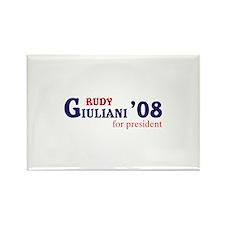 Rudy Giuliani for president 0 Rectangle Magnet