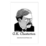 G.K. Chesterton Postcards (Package of 8)